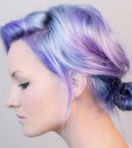 Two-tone Pastel Hair