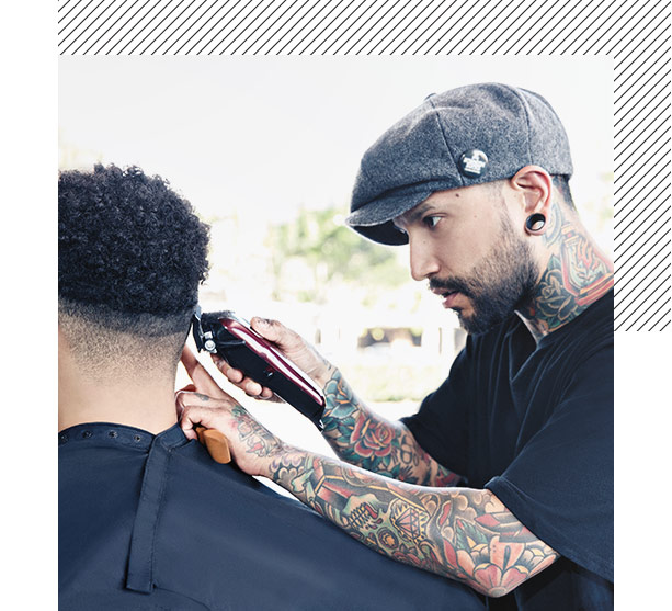 image of the barbering program campaign