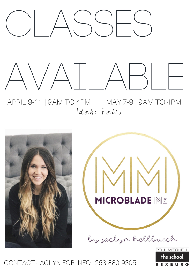 Microblading Classes Available